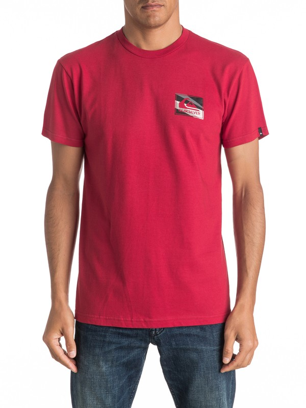 0 Box Knife Tee  AQYZT04400 Quiksilver