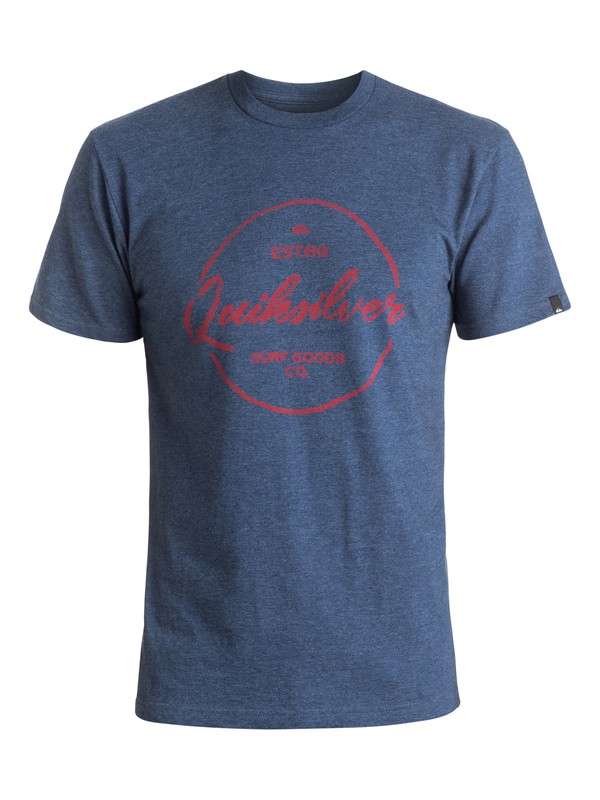 0 Silvered Tee Purple AQYZT04406 Quiksilver