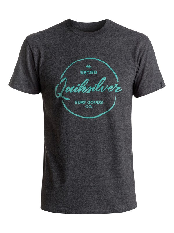 0 Silvered Tee Black AQYZT04406 Quiksilver