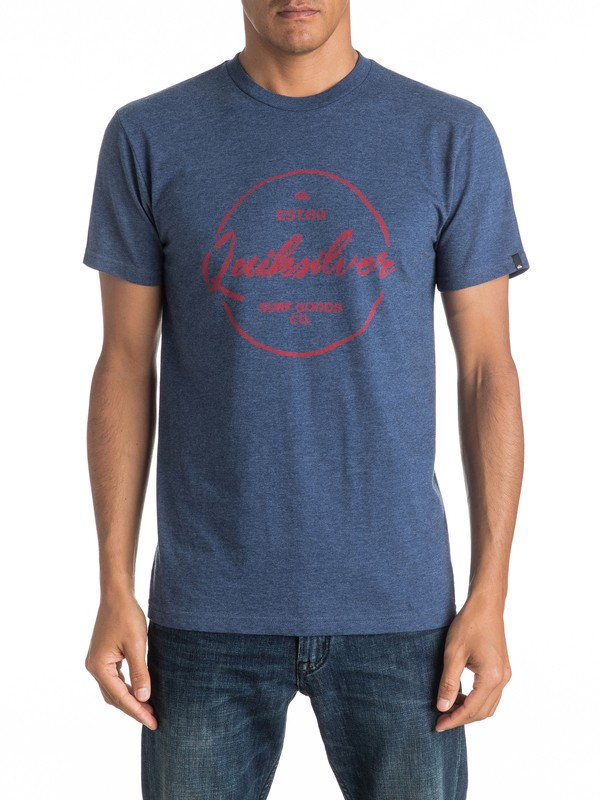 0 Silvered Tee  AQYZT04406 Quiksilver