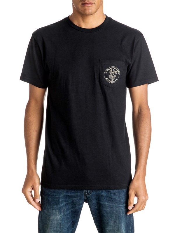 0 Off The Block Tee  AQYZT04413 Quiksilver