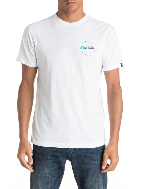 0 Right Up Tee  AQYZT04429 Quiksilver