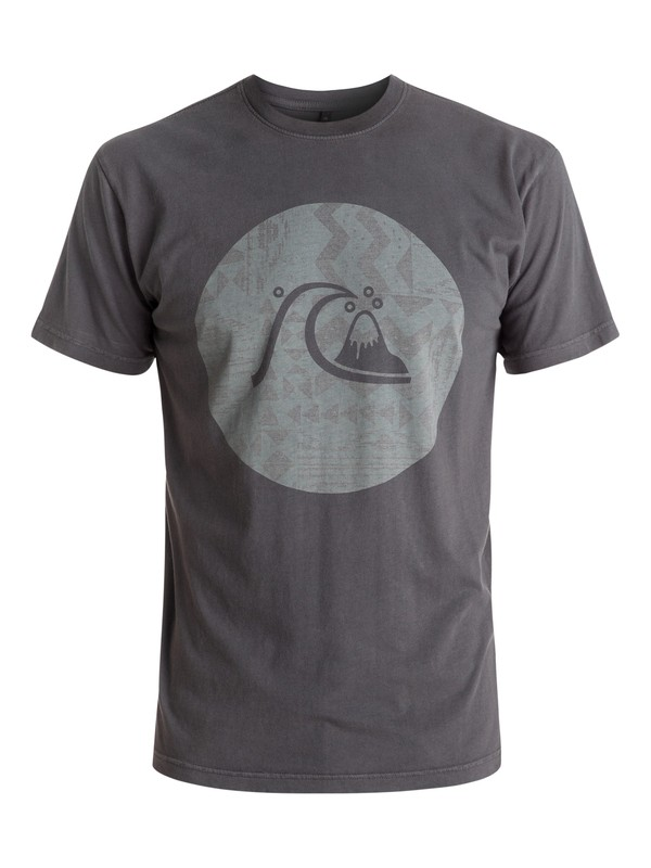 0 Circle Bubble Tee Black AQYZT04448 Quiksilver