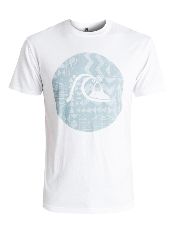 0 Circle Bubble Tee White AQYZT04448 Quiksilver