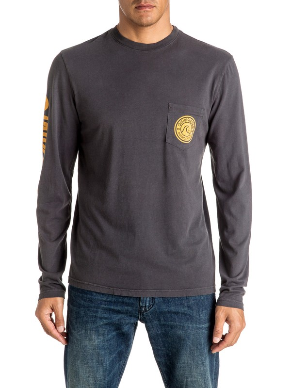 0 Bubble Logo Long Sleeve Tee  AQYZT04451 Quiksilver