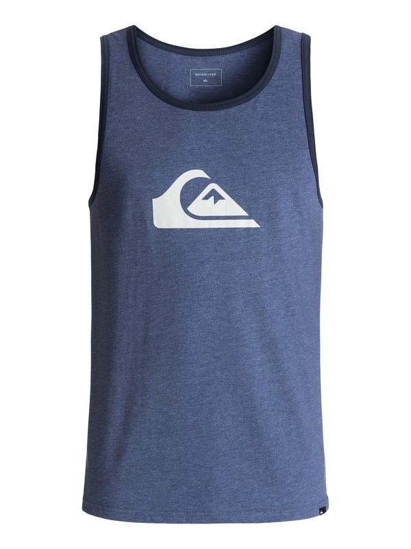 0 Mountain Wave Logo Tank Blue AQYZT04595 Quiksilver