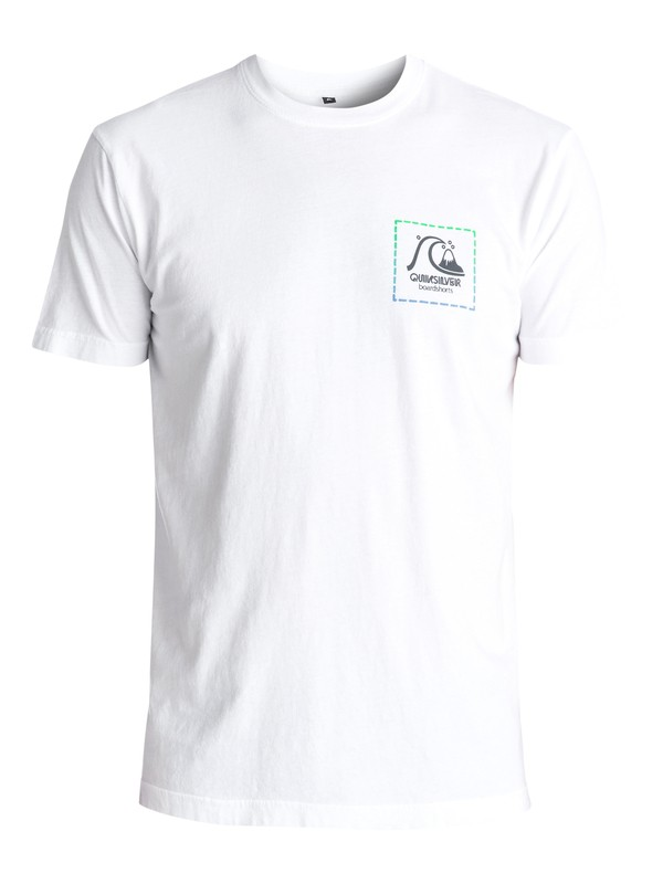 0 Original Patch Tee White AQYZT04608 Quiksilver
