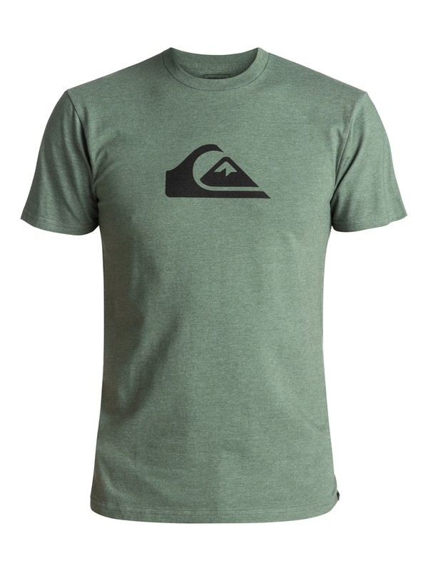 0 Mountain Wave Classic Tee Green AQYZT04731 Quiksilver