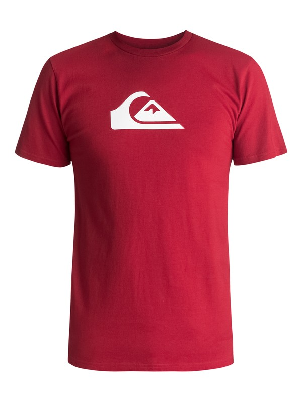 0 Mountain Wave Classic Tee Red AQYZT04731 Quiksilver