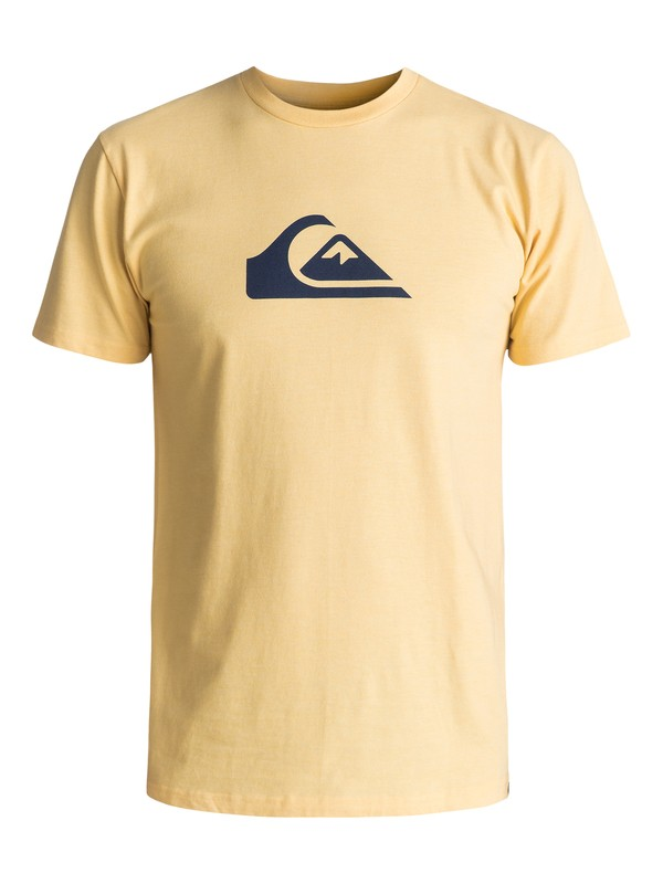 0 Mountain Wave Classic Tee Yellow AQYZT04731 Quiksilver