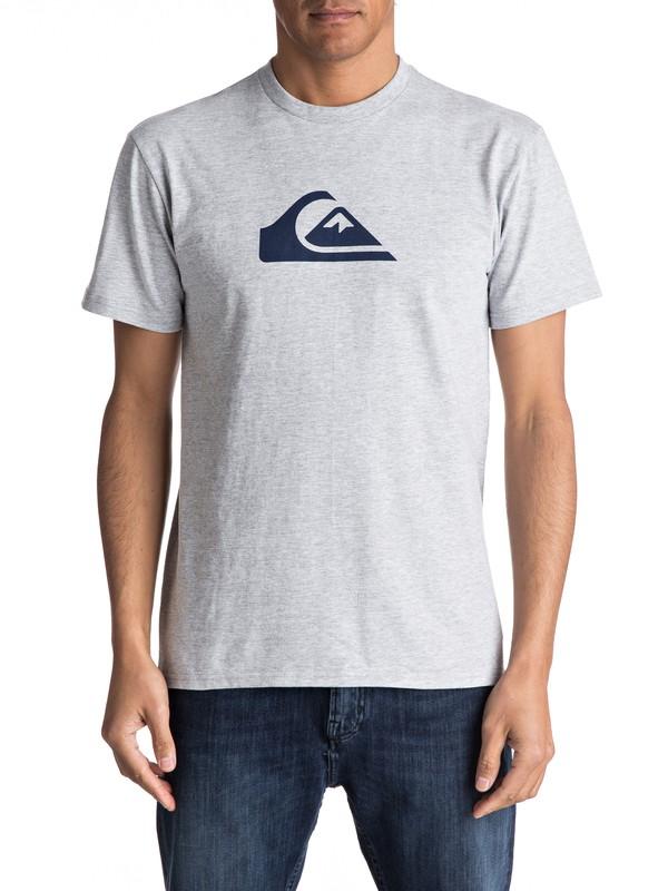 0 Mountain Wave Classic Tee Grey AQYZT04731 Quiksilver