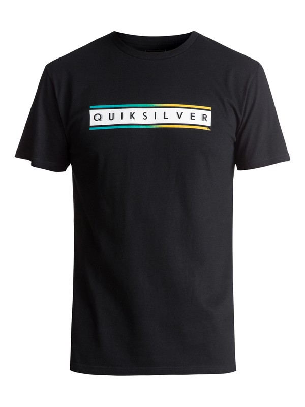 0 Daily Surf Tee Black AQYZT04734 Quiksilver