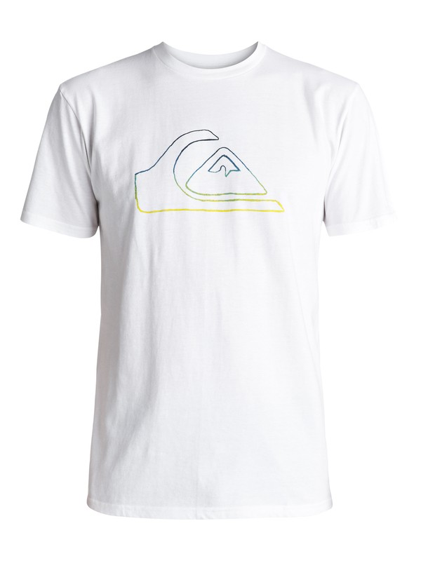 0 Jungle Mountain Tee White AQYZT04736 Quiksilver