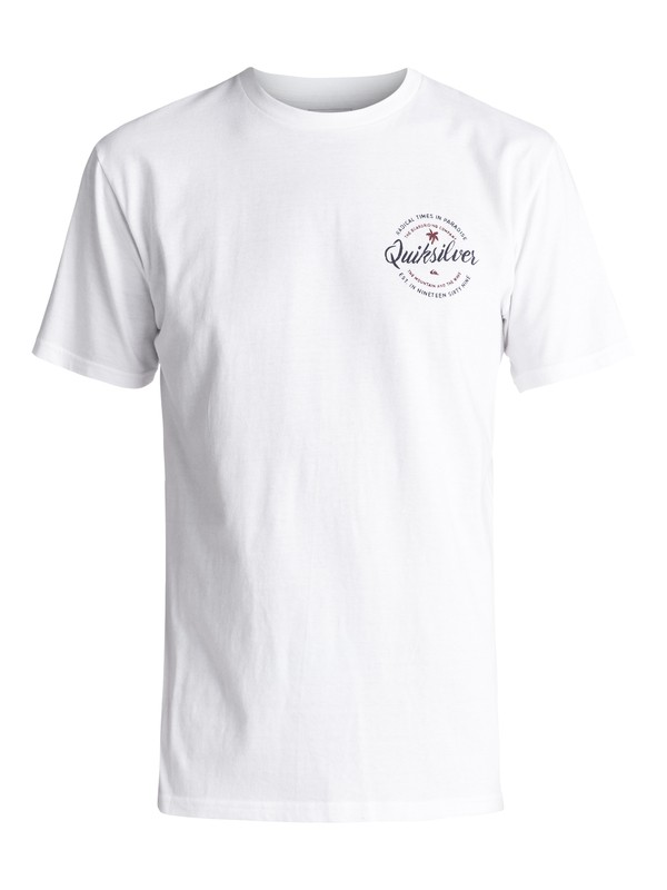0 Holding Dreams Tee White AQYZT04741 Quiksilver