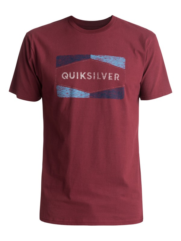 0 Chappy Tee Red AQYZT04747 Quiksilver