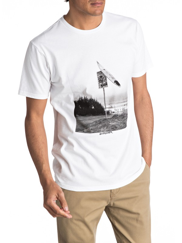 0 Smashed Tee  AQYZT04752 Quiksilver