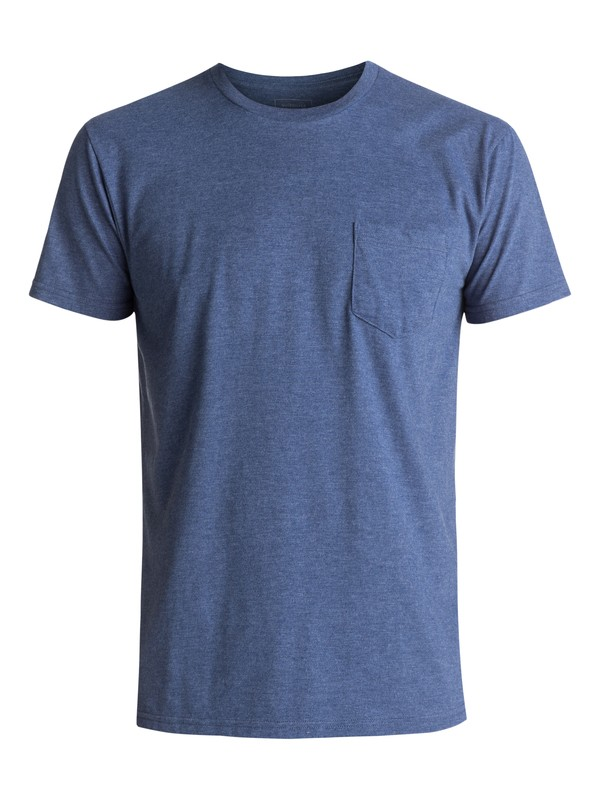 0 Clean N Easy Tee Blue AQYZT04760 Quiksilver