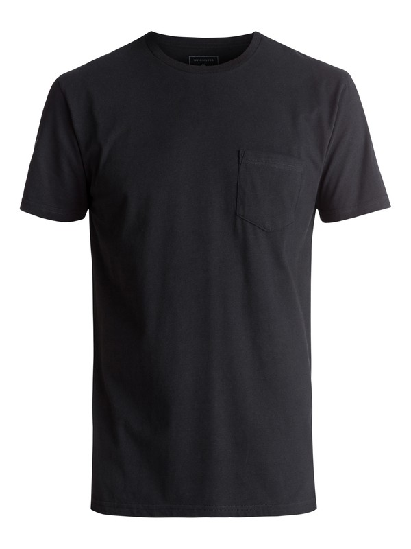 0 Clean N Easy Tee Black AQYZT04760 Quiksilver