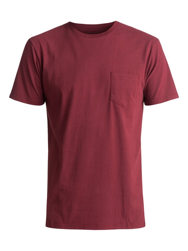 0 Clean N Easy Tee Red AQYZT04760 Quiksilver