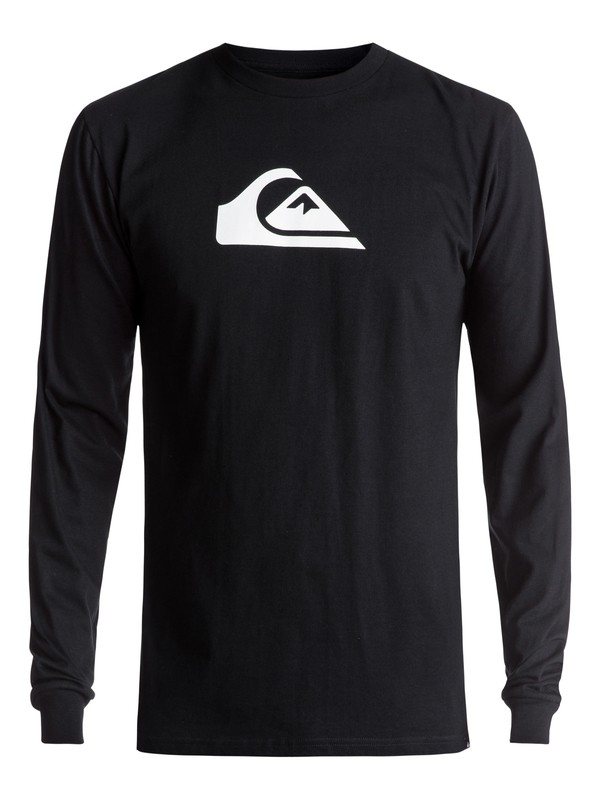 0 Mountain And Wave Long Sleeve Tee Black AQYZT04772 Quiksilver