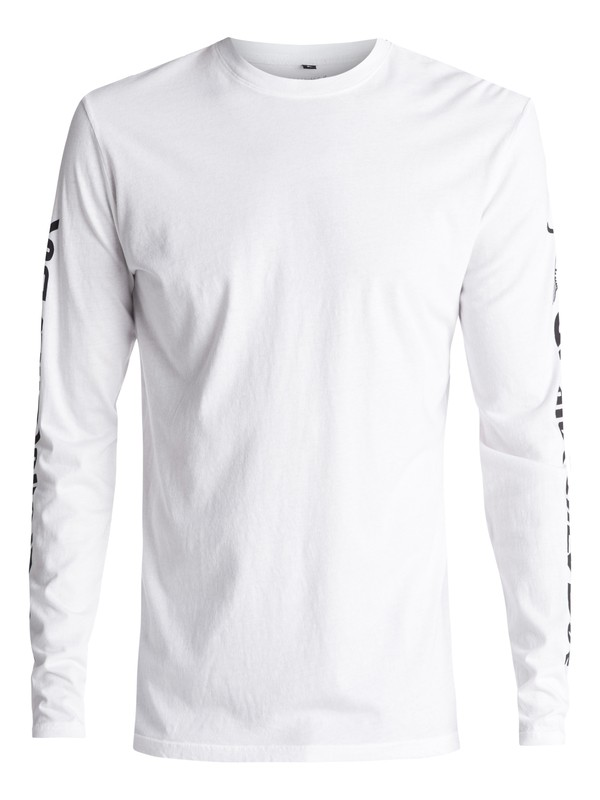 0 Early Daze Long Sleeve Tee White AQYZT04801 Quiksilver