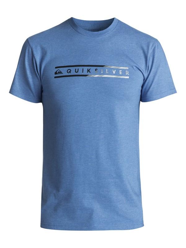 0 Men's Skinny Script Tee Blue AQYZT04980 Quiksilver