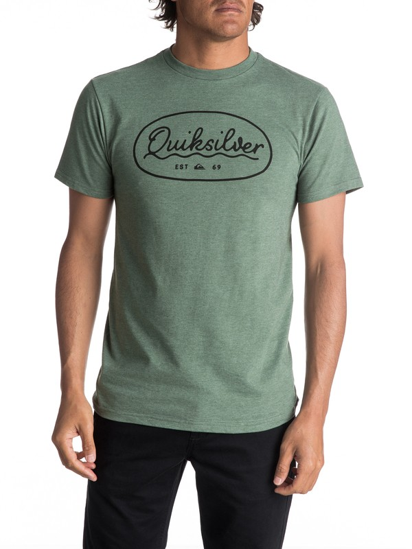 0 Men's Simple Times Tee  AQYZT04988 Quiksilver