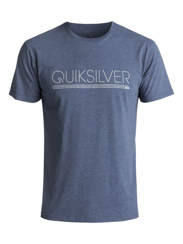 0 Men's Thin Mark Tee Blue AQYZT05002 Quiksilver