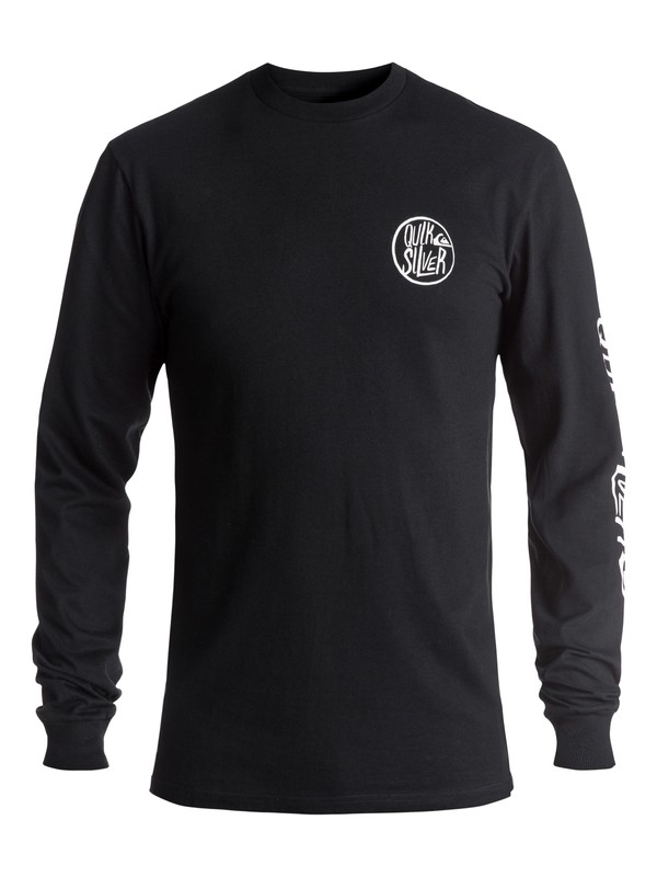 0 Men's Kool Shapes Long Sleeve Tee Black AQYZT05021 Quiksilver