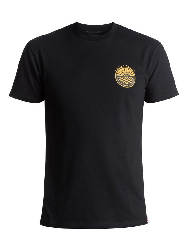 0 Men's Citrus Hawaii Tee Black AQYZT05052 Quiksilver