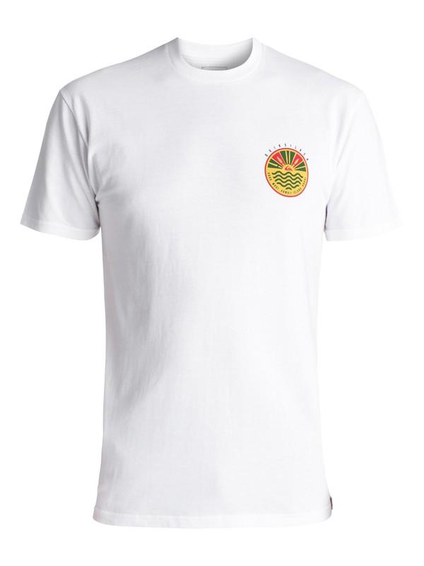 0 Men's Citrus Hawaii Tee White AQYZT05052 Quiksilver