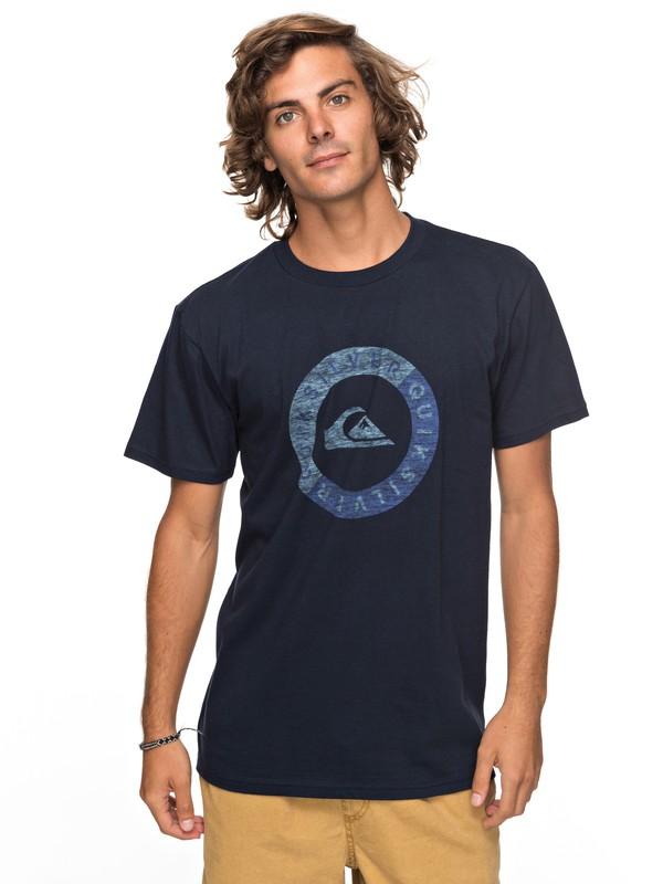 0 Shores Away Tee Blue AQYZT05123 Quiksilver