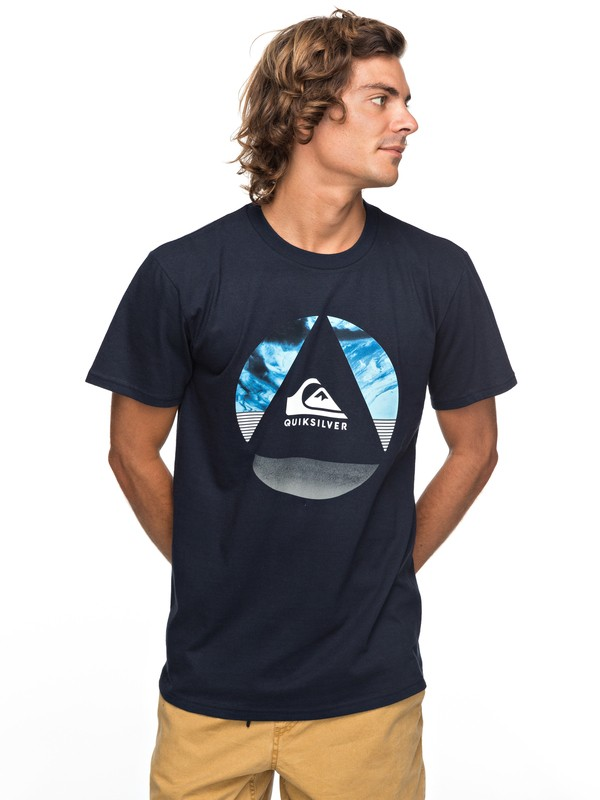0 Fluid Turns Tee Blue AQYZT05124 Quiksilver