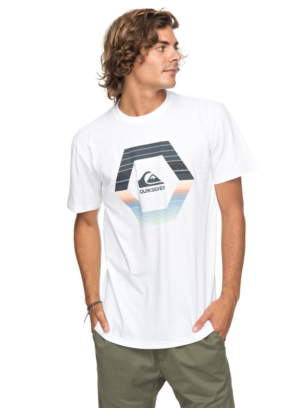 0 Astral Travel Tee White AQYZT05126 Quiksilver