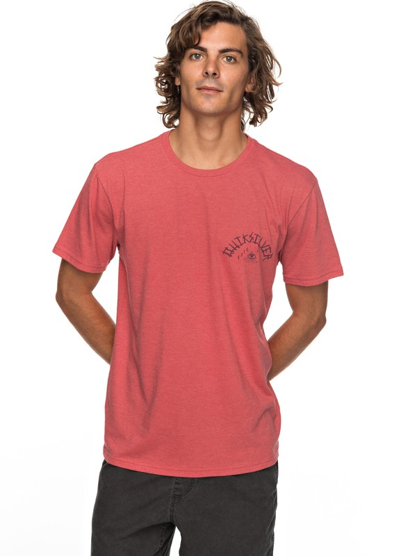 0 Kula Out Tee Red AQYZT05150 Quiksilver