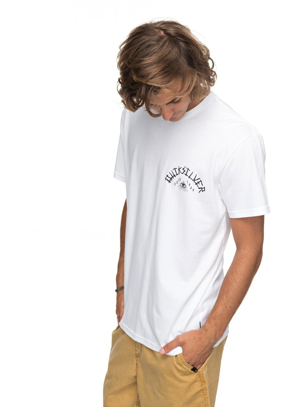 0 Kula Out Tee White AQYZT05150 Quiksilver