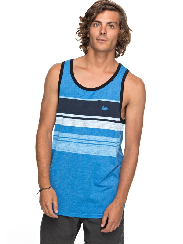 0 Swell Vision Tank Blue AQYZT05163 Quiksilver
