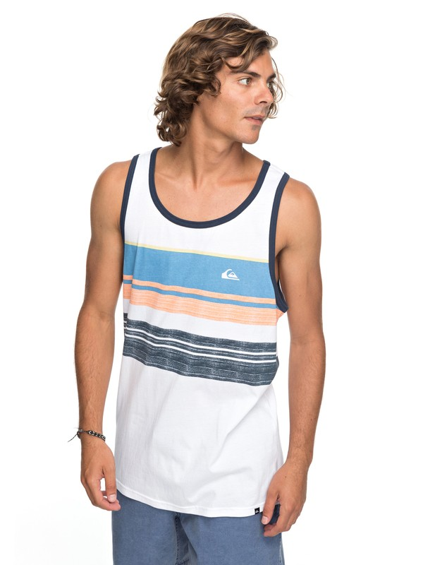 0 Swell Vision Tank White AQYZT05163 Quiksilver