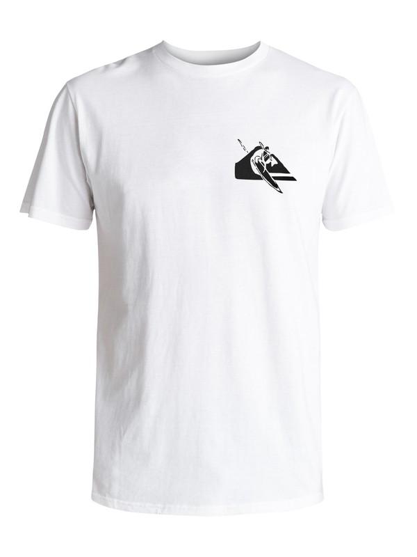 0 MWRM Petroglyph - T-Shirt White AQYZT05906 Quiksilver