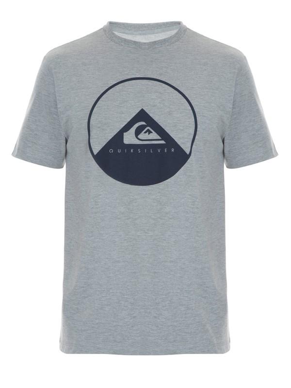 0 Camiseta Masculina Manga Curta Estampa Frontal Quiksilver  BR61114270 Quiksilver