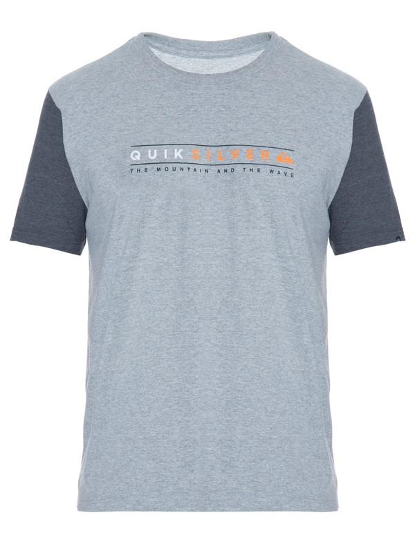 0 Camiseta Masculina Manga Curta Estampa Frontal Quiksilver  BR61114304 Quiksilver