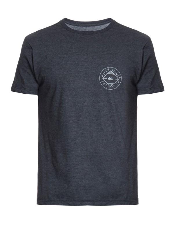 0 Camiseta Masculina Manga Curta Slim Quiksilver  BR61241546 Quiksilver