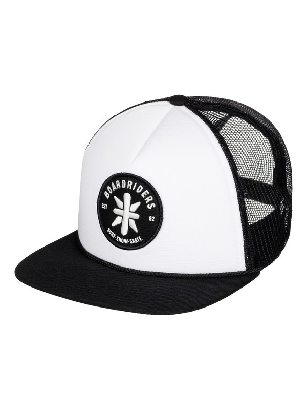0 Boardriders Trucker Cap Black EEYHA03002 Quiksilver