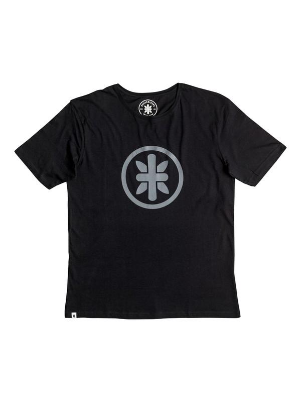 0 Boardriders Logo T-Shirt Black EEYZT03001 Quiksilver