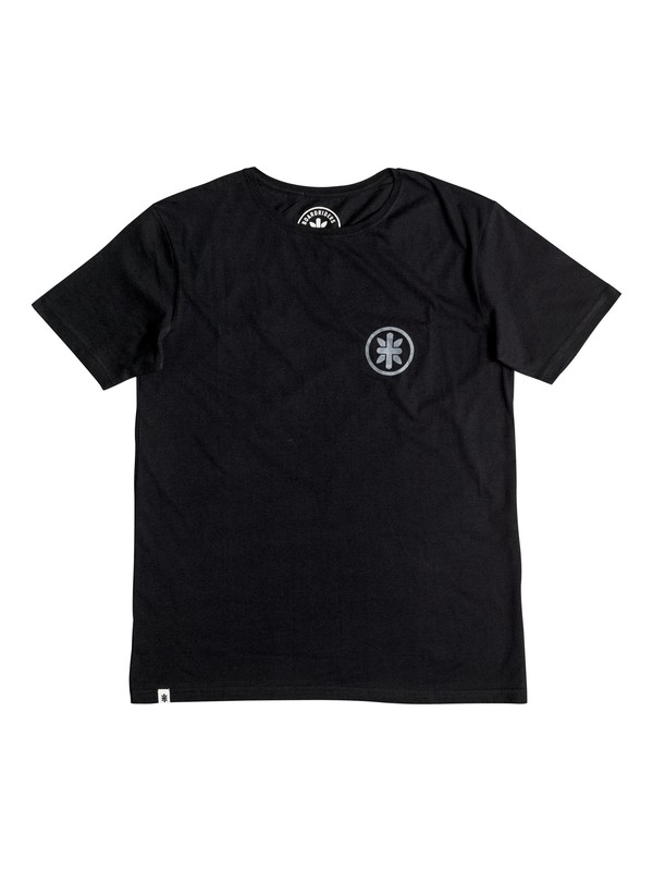 0 Boardriders Patch T-Shirt Black EEYZT03002 Quiksilver