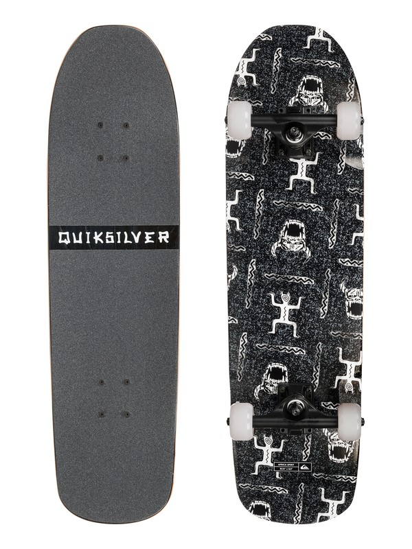 0 Africa Spirit - Skateboard Gris EGL0QSLSSA Quiksilver