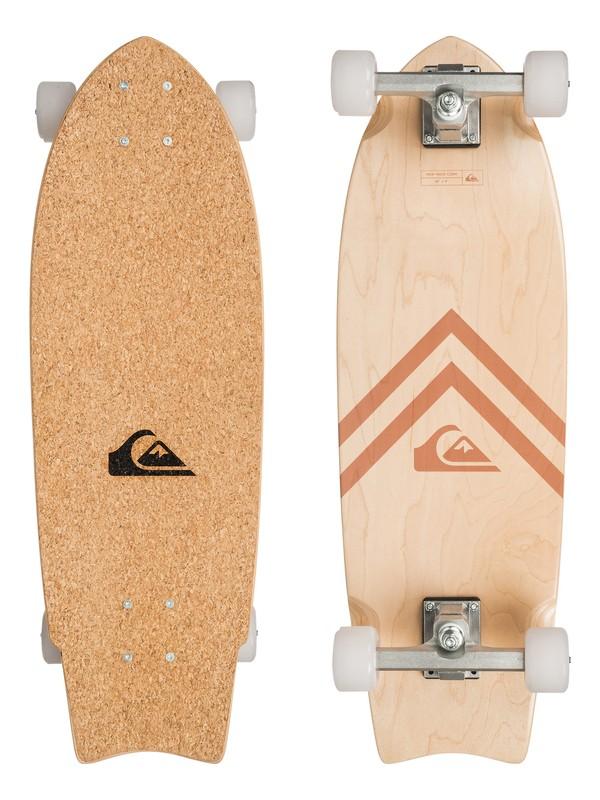 0 New Wave Psych Skateboard Brown EGLLSNWVUS Quiksilver