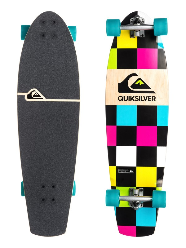 0 Echo Beach 35.5 Ltd Cruiser Skateboard  EGLQSLSECL Quiksilver