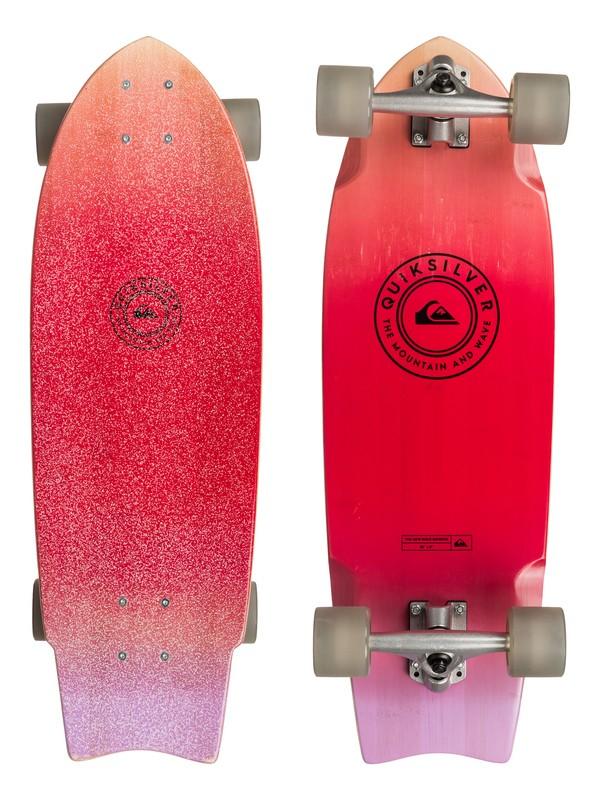 0 The New Wave Bamboo - Skateboard Marron EGLQSLSNWN Quiksilver