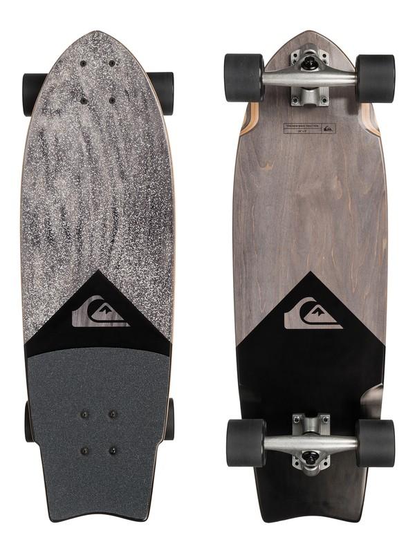 0 Black Traction - Skateboard Noir EGLQSLSNWV Quiksilver